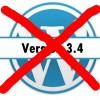 Nicht auf WordPress 3.4 updaten